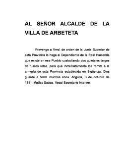 ALCALDE DE ARBETETA