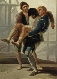 goya-albañil herido