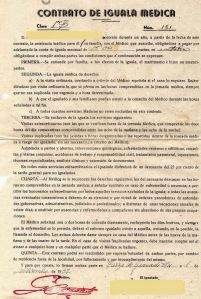 1947 - Contrato de igualado