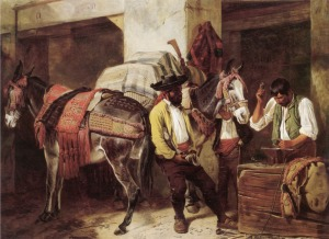 Ansdell_Richard_The_Blacksmiths_Shop