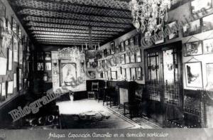 exposición Camarillo en su domicilio particular