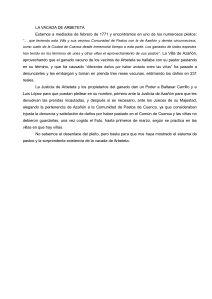 VACADA DE ARBETETA 1771